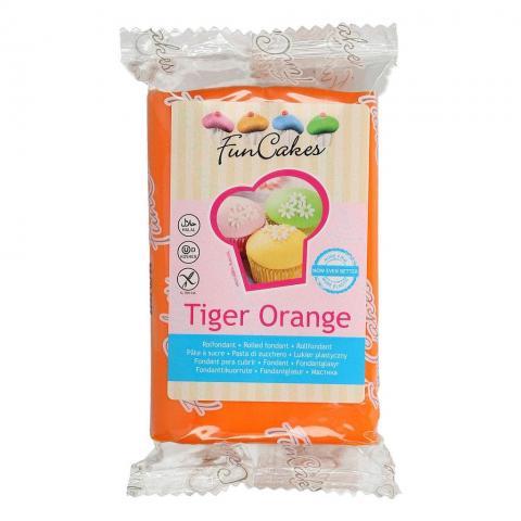 Funcakes sockerpasta, Tiger Orange