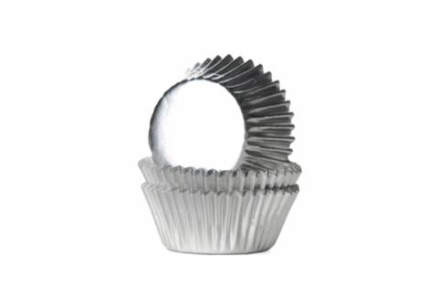Mini-muffinsform, silver