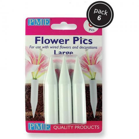 PME blomhållare, 6st