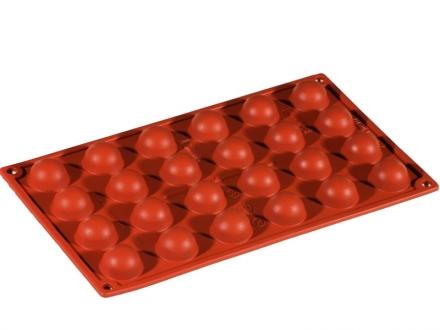 Halvboll- silikonform