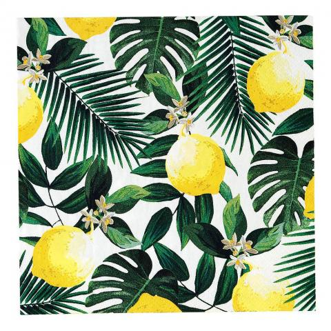 Servetter, Tropical Palm Lemon