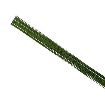 Floristtråd, grön 0,5mm