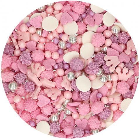 FunCakes strösselmix, rosa