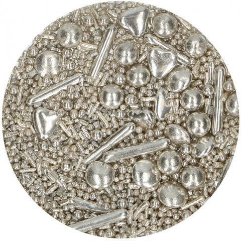 FunCakes strösselmix, Silver