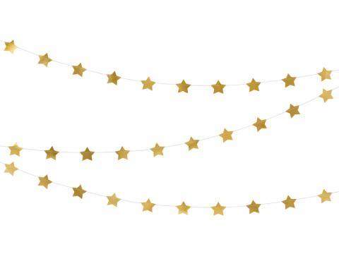 Girlang, stjärnor