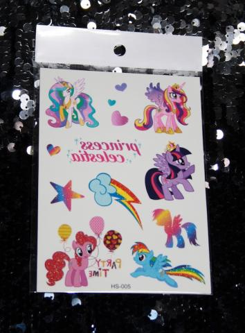 Barn tatueringar, My little pony