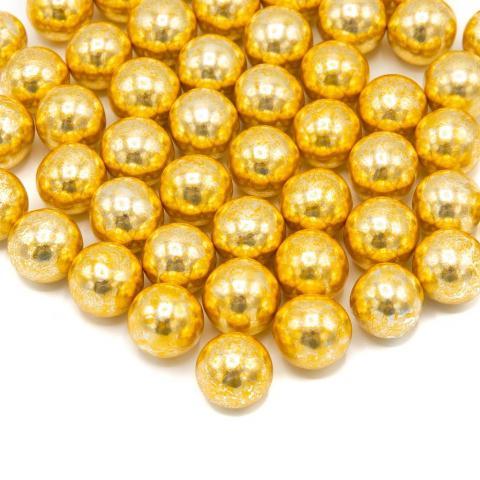Chokladkulor XXL vintage gold 130g