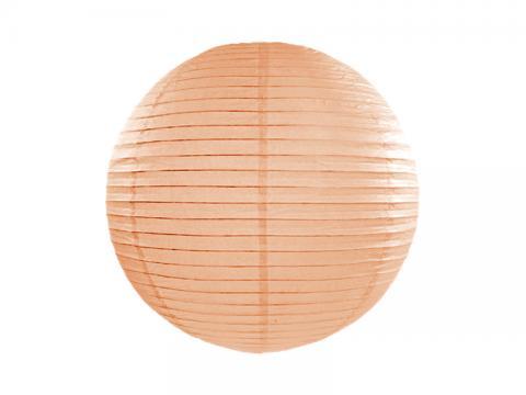 Papperslykta, persika 20cm
