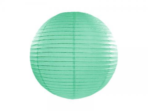 Papperslykta, mintgrön 20cm