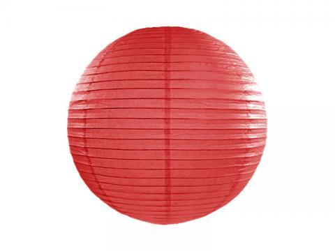 Papperslykta, röd 35cm