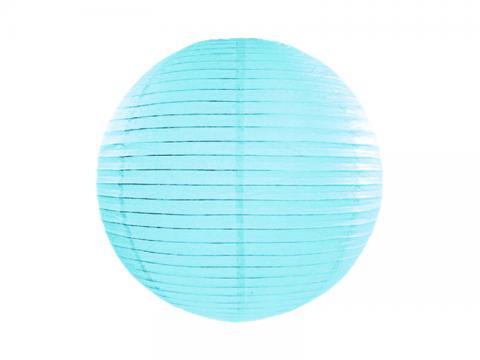 Papperslykta, ljusblå 35cm