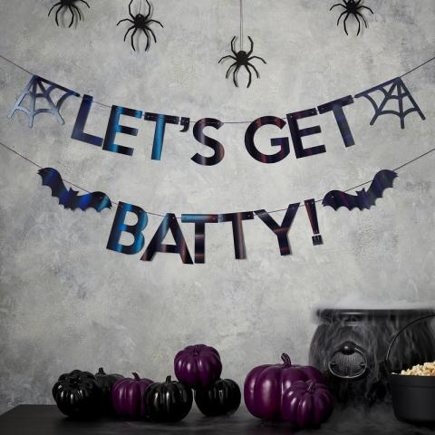 Let's get batty -vimpel