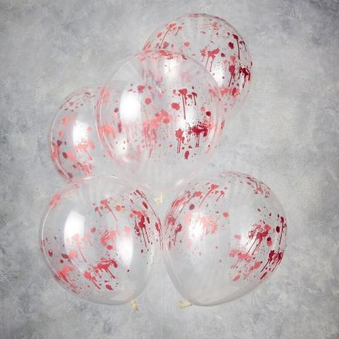 Halloween gummiballonger 5st