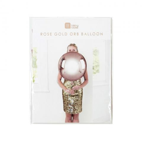 Figurfolieballong, Rosé gold ORB