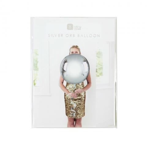 Figurfolieballong, silver ORB