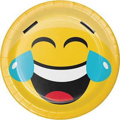 Emoji små tallrikar