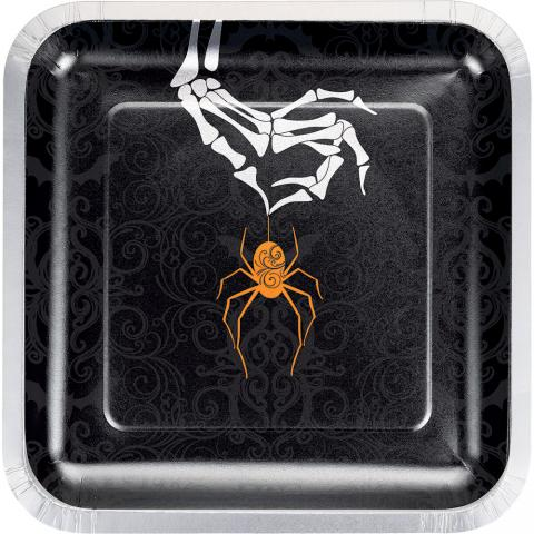 Wicked spider, stora  tallrikar