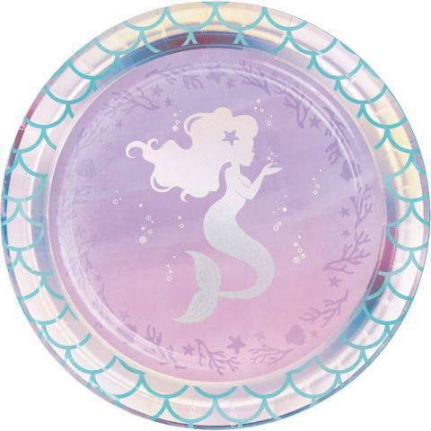 Mermaid Shine små tallrikar