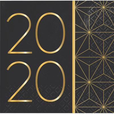 Nyår 2020 små servetter