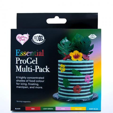 Rainbow Dust ProGel® pastafärgset, Essential