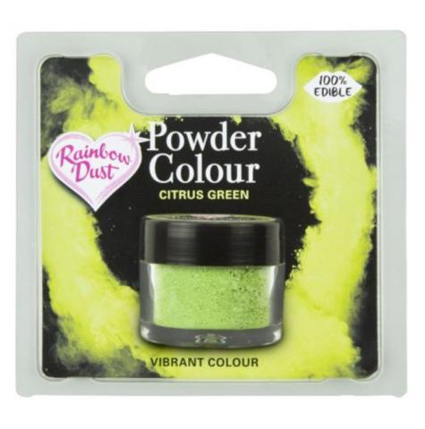 Effektfärg, puderfärg Citrus Green