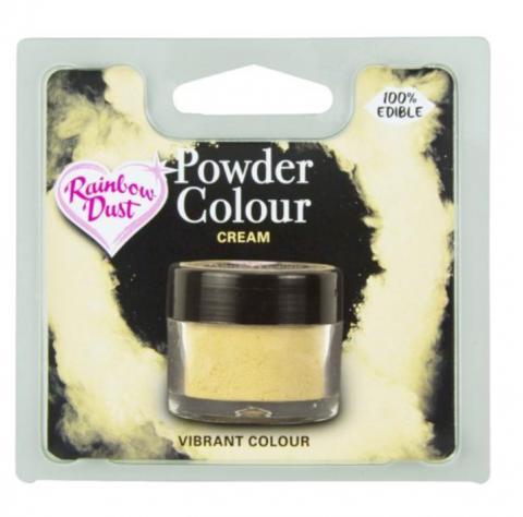 Effektfärg, puderfärg Cream
