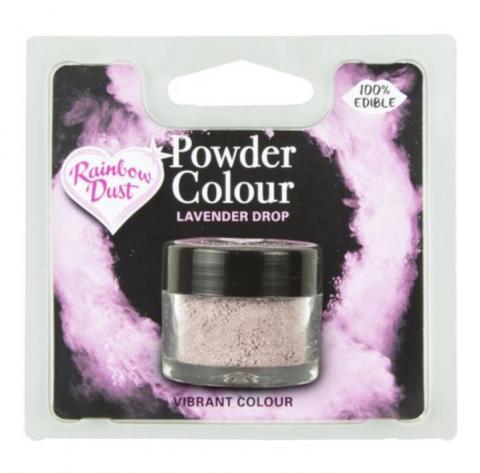 Effektfärg, puderfärg Lavender Drop