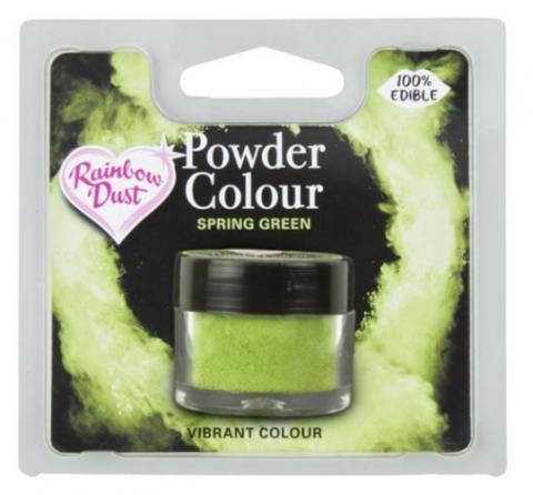 Effektfärg, puderfärg Spring Green