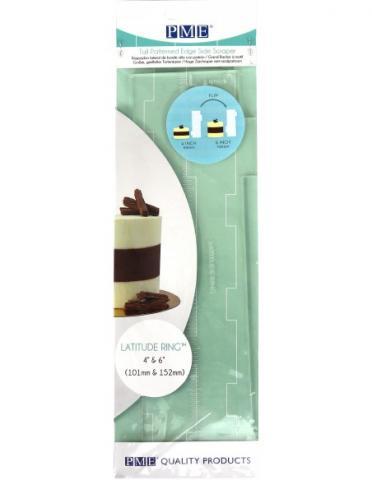 PME tårtkam, 10cm & 15cm