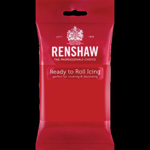 Renshaw Pro sockerpasta, röd 250g