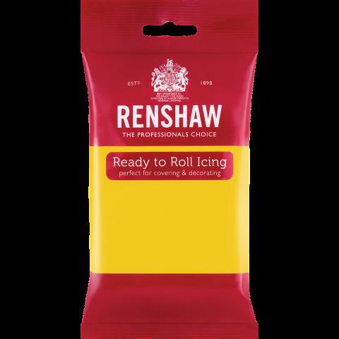 Renshaw Pro sockerpasta, gul 250g