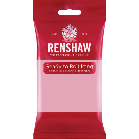 Renshaw Pro sockerpasta, rosa 250g