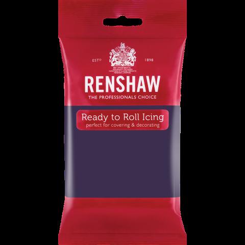 Renshaw Pro sockerpasta, mörk lila 250g