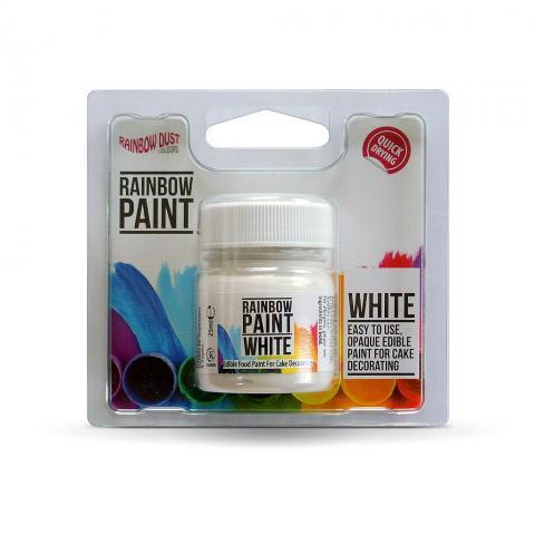 Rainbow Dust vit färg