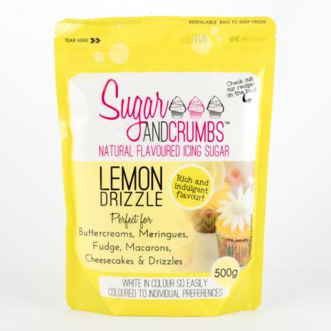Smaksatt socker, Lemon Drizzle