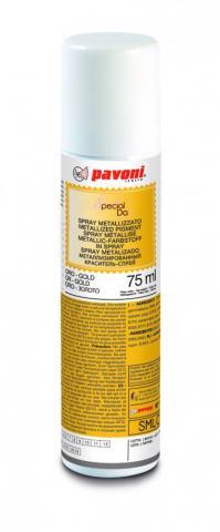 Premium glitterspray, guld 75 ml