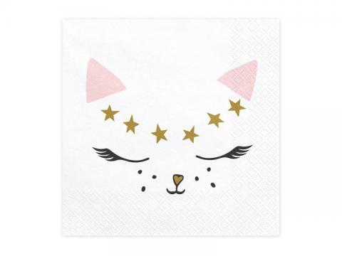 Katt servetter