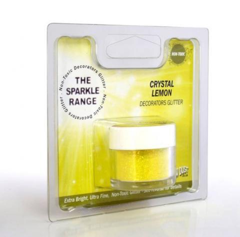 Dekorationspulverfärg, Crystal Lemon