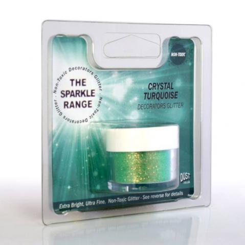 Dekorationspulverfärg, Crystal Turquoise