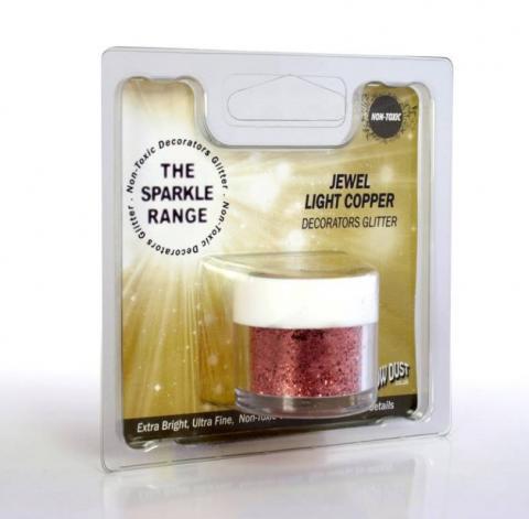 Dekorationspulverfärg, Jewel Light Copper