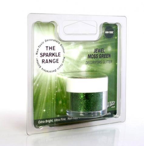 Dekorationspulverfärg, Jewel Moss Green