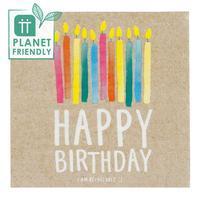 Servetter återvinningsbar, Happy Birthday