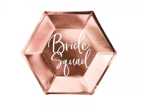 Bride Squad stora tallrikar