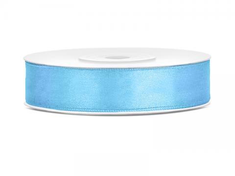 Satinband 1,2cm himmeblå