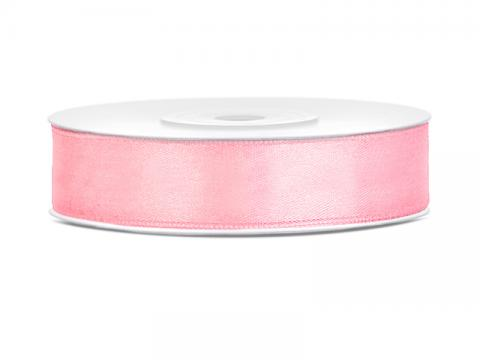Satinband 1,2cm rosa