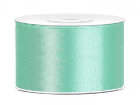 Satinband 3,8cm mintgrön