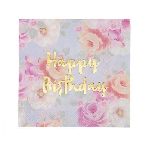 Happy Birthday servetter