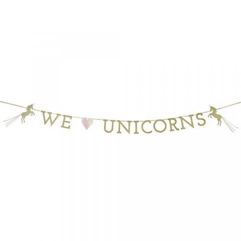 We heart Unicorn, vimpel