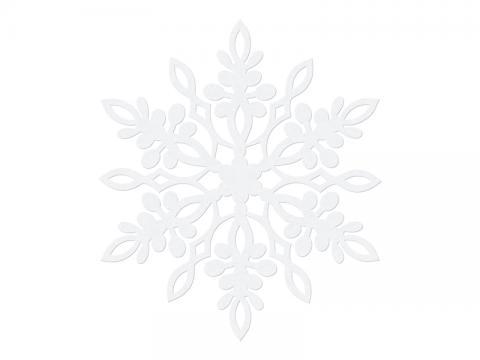 Pappersdekoration, snöflinga 13cm