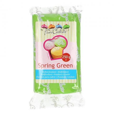 Funcakes sockerpasta, Spring Green 250g